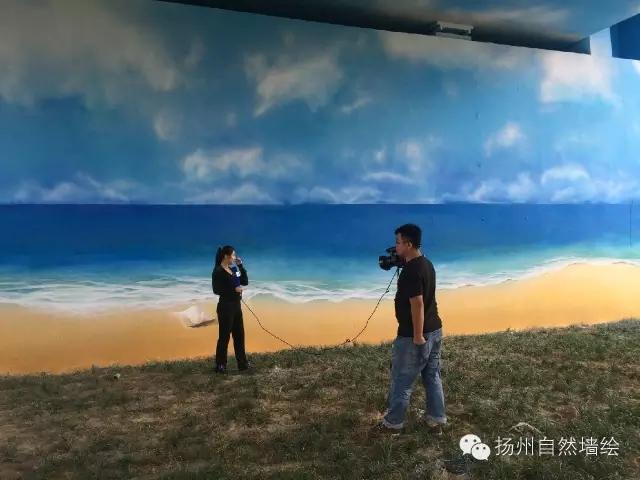 广陵大桥彩绘工程