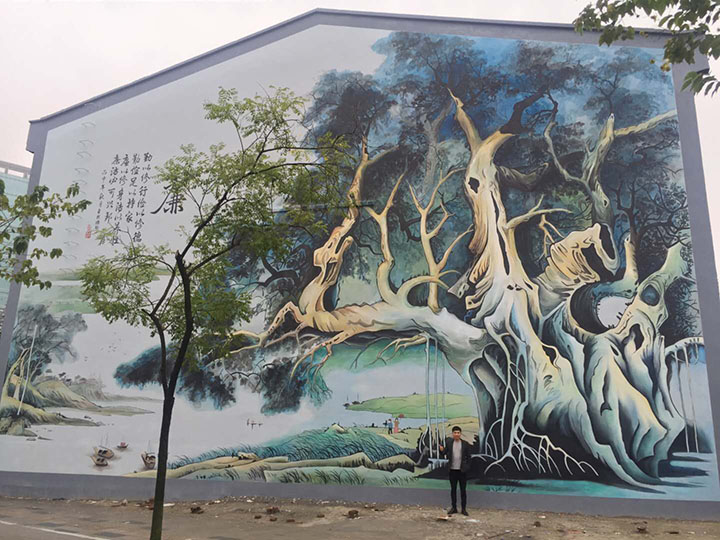 市政外墙彩绘