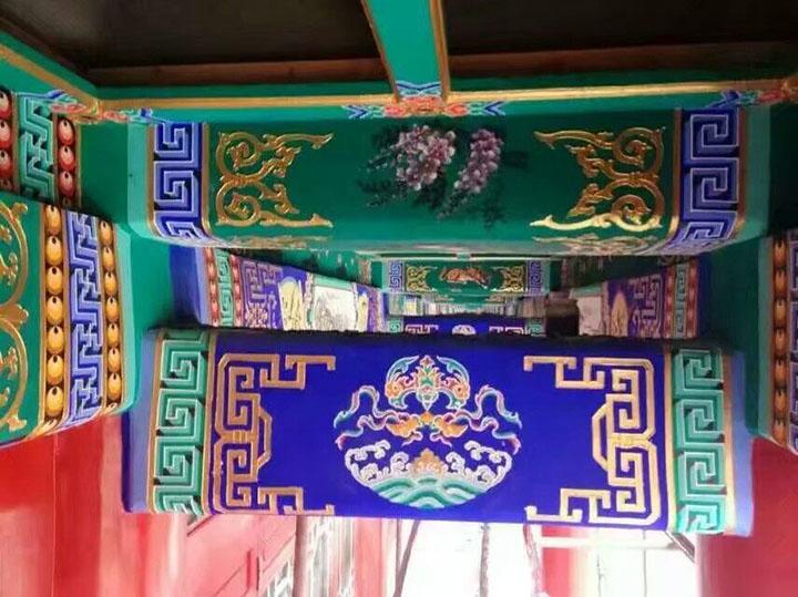 扬州古建彩绘