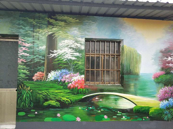 扬州乡村彩绘