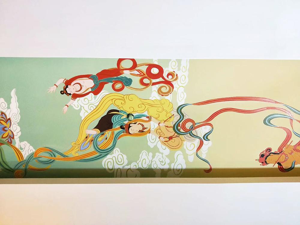 常州九龙禅寺彩绘